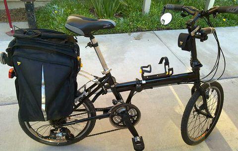 Consider a folding bike.