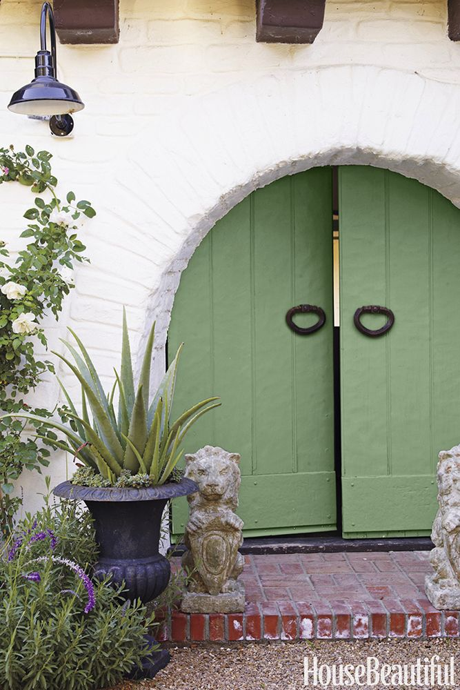 Farrow U0026 Ball Folly Green Front Door
