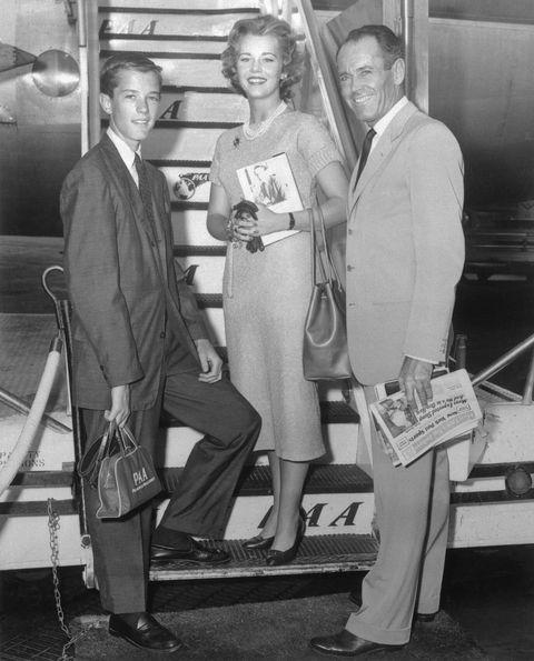 Henry Fonda with Family