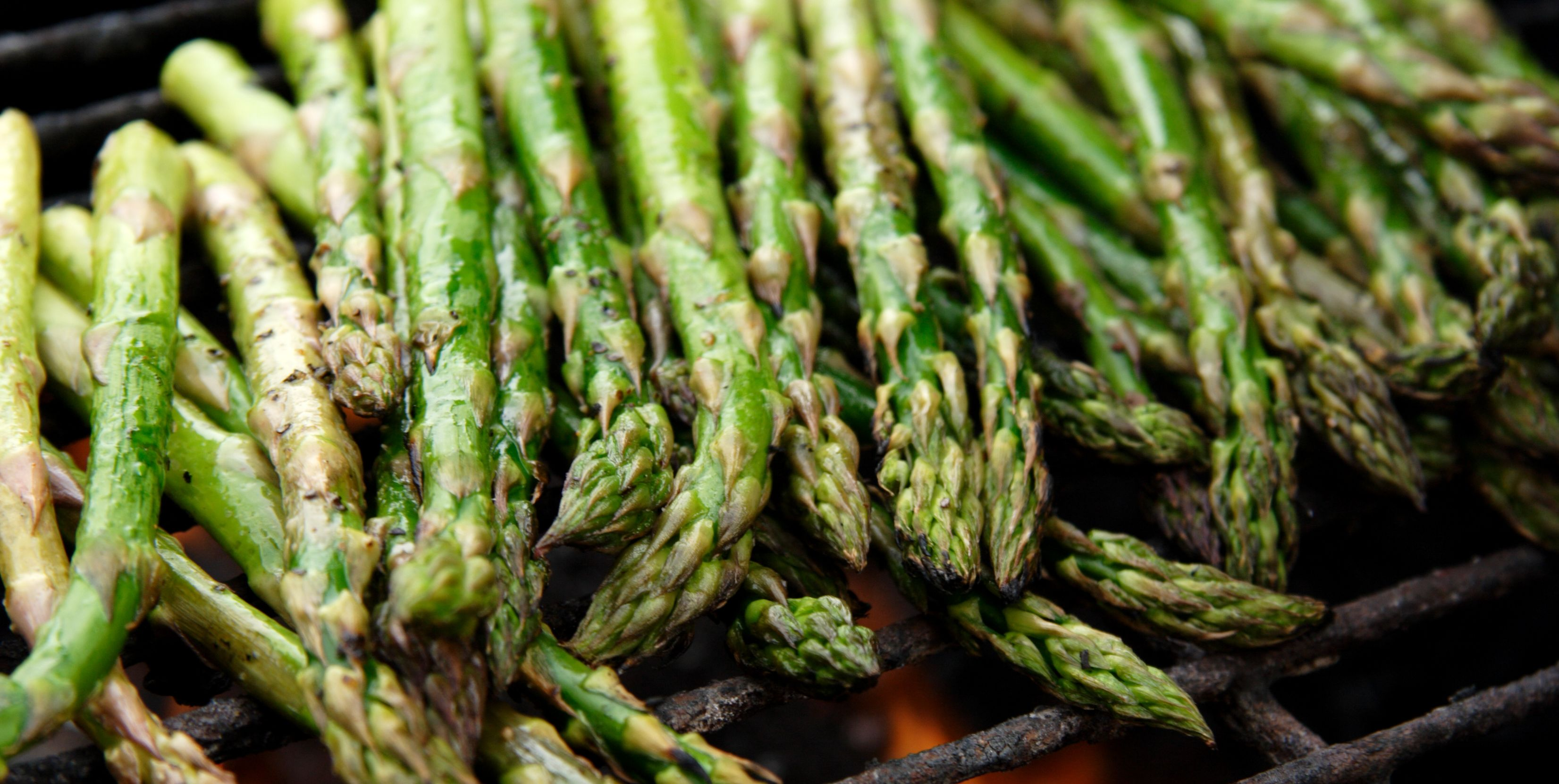 food bbq grilled asparagus