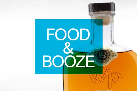best food and booze for men