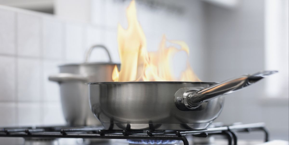 How to put out a grease fire cooking fire safety tips - How to put out a fireplace ...