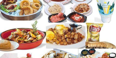 Unhealthiest Chain Restaurant Meals