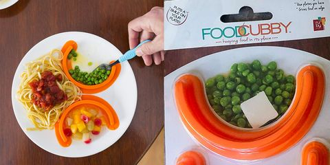 This 'Food Cubby' Ensures All the Different Food on Your Plate Will Never Touch Again