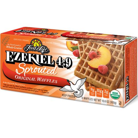Food for Life Ezekiel 4:9 Sprouted Grain Waffles