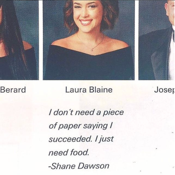 20 funny yearbook quotes for 2018 best senior quotes for yearbooks