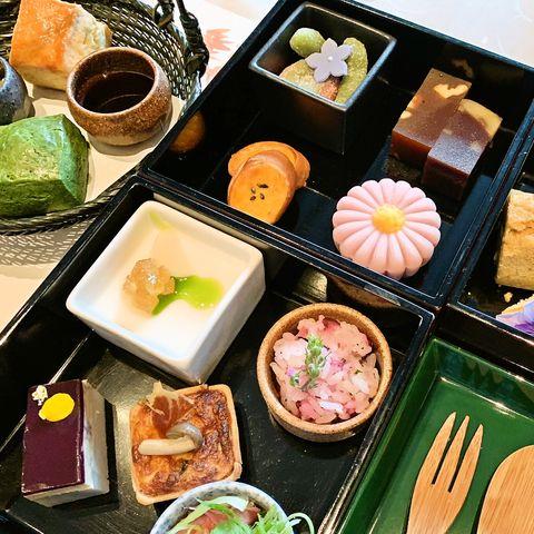 パレスホテル東京のアフタヌーンティー「京のおもてなし」