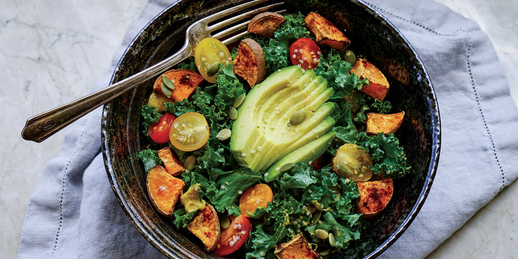 Kale causes bloating