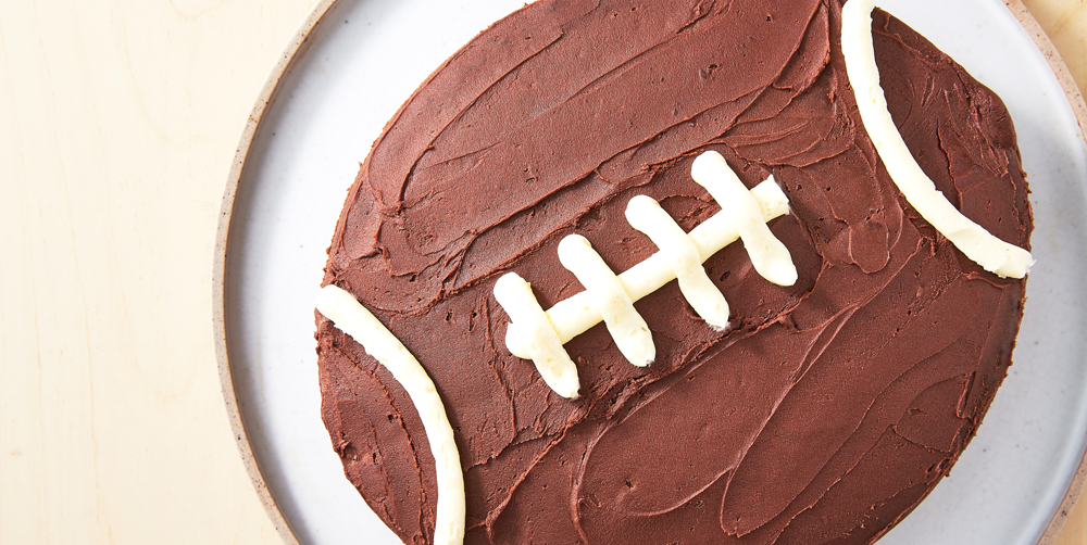 Best Football Cake Recipe - How To Make Football Cake