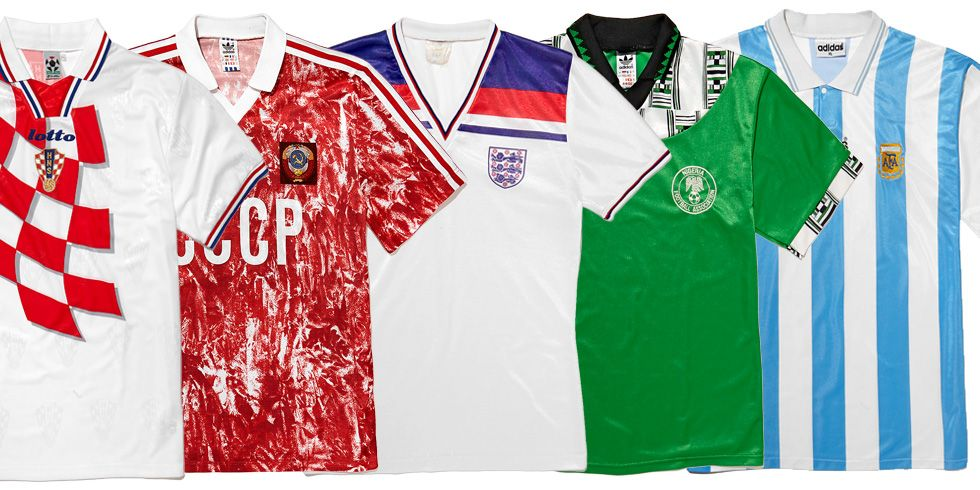 90db01f3d The 11 Greatest World Cup Football Shirts Of All time