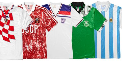 new product dabb7 149c8 The 11 Greatest World Cup Football Shirts Of All time