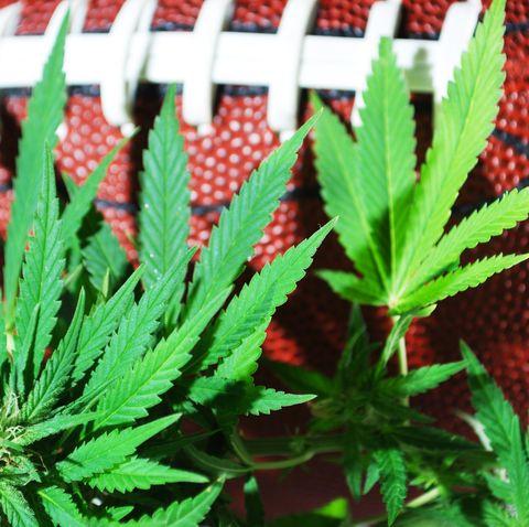 Football with Marijuana