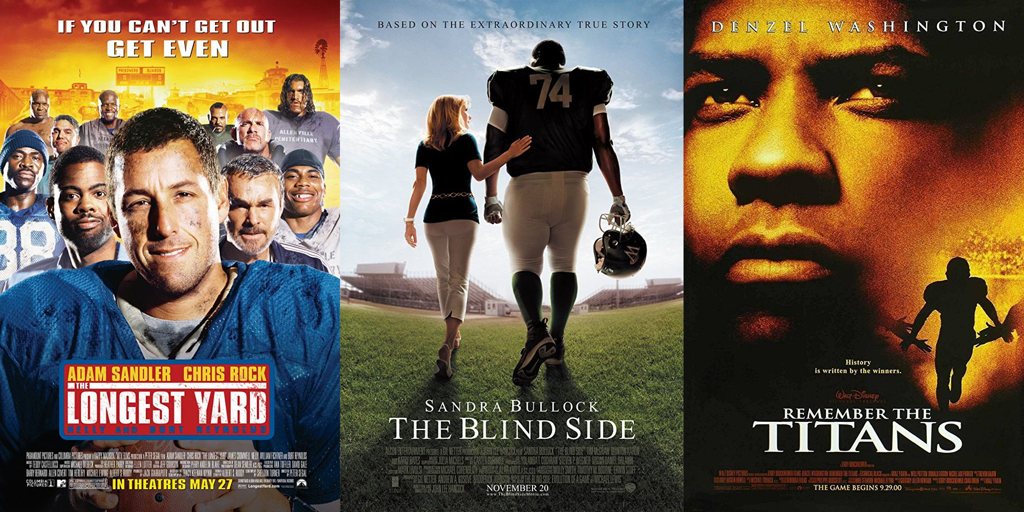 20 Best Football Movies Ever - Greatest Classic American Football Films