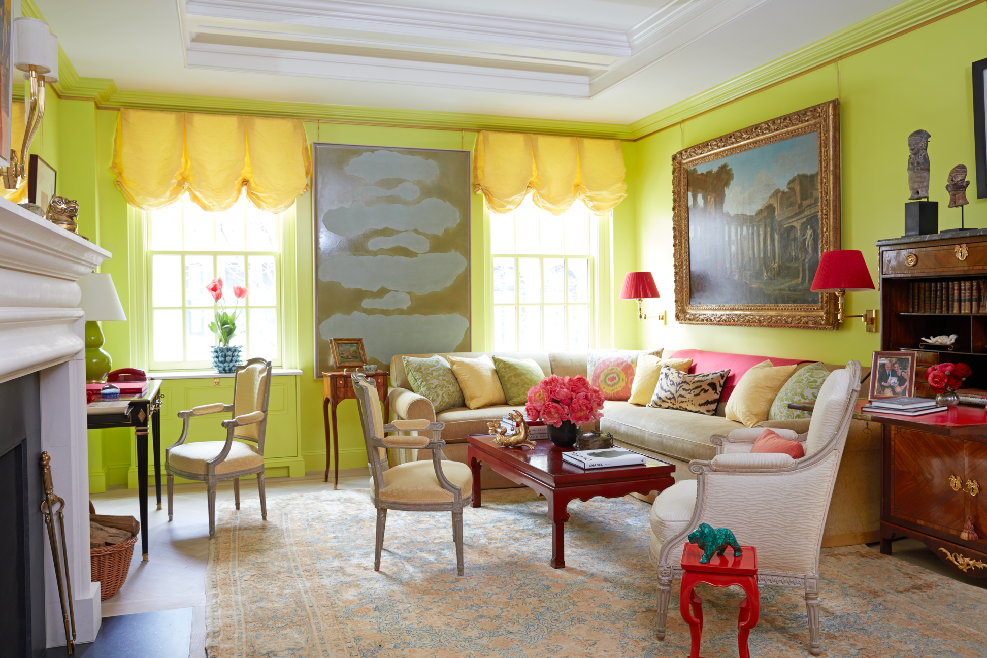 22 Living Room Color Combinations   Best Color Schemes For ...