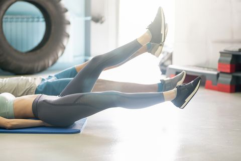 5 core-crushing leg raise variations you can do from your living room