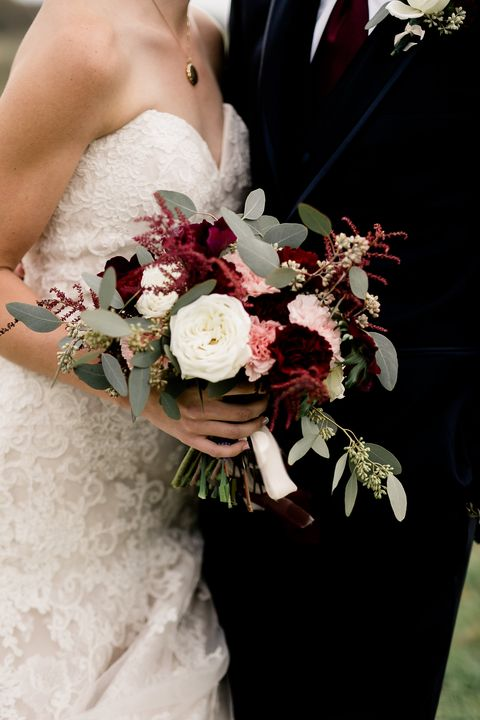Southern Fall Wedding Bouquet