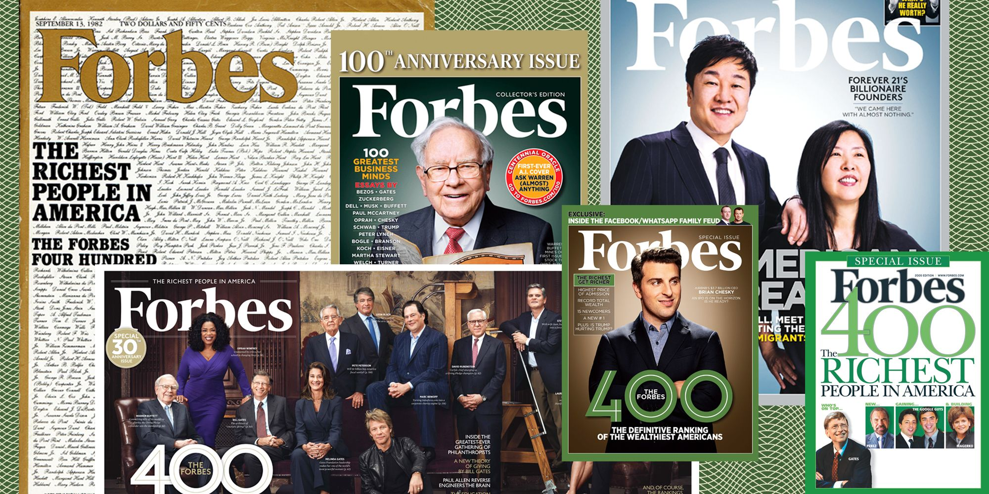 How to Get a Spot Among the Billionaires on the Forbes 400 List