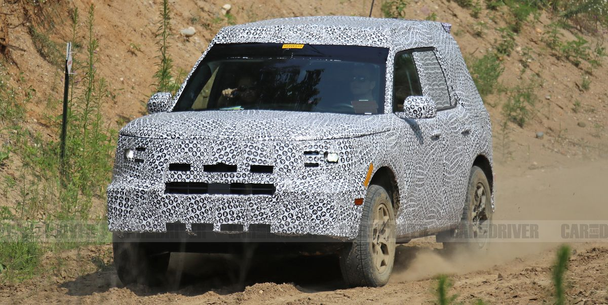 """Ford's """"Baby Bronco"""" Compact SUV Shows Off Its Off-Road Chops"""