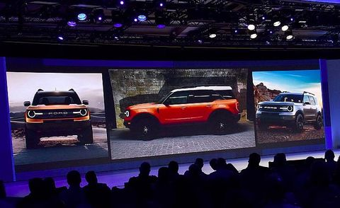 Ford baby Bronco teaser