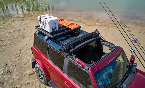 ford bronco 4 door outer banks fishing guide