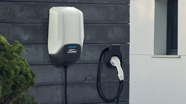 ford electric vehicle home charger