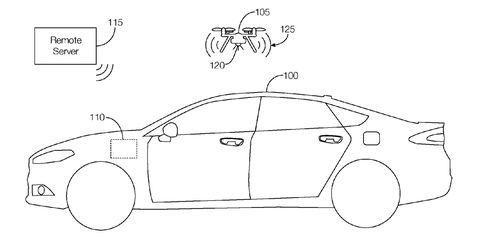 Ford Patenting a Drone You Can Deploy from Your Car's Trunk