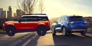 """2020 Ford Escape and """"baby Bronco"""""""