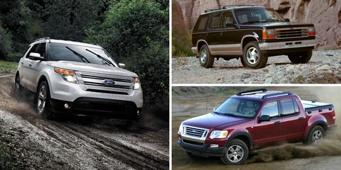 Ford Explorer Wiki >> The History Of The Ford Explorer From 1990 To Today