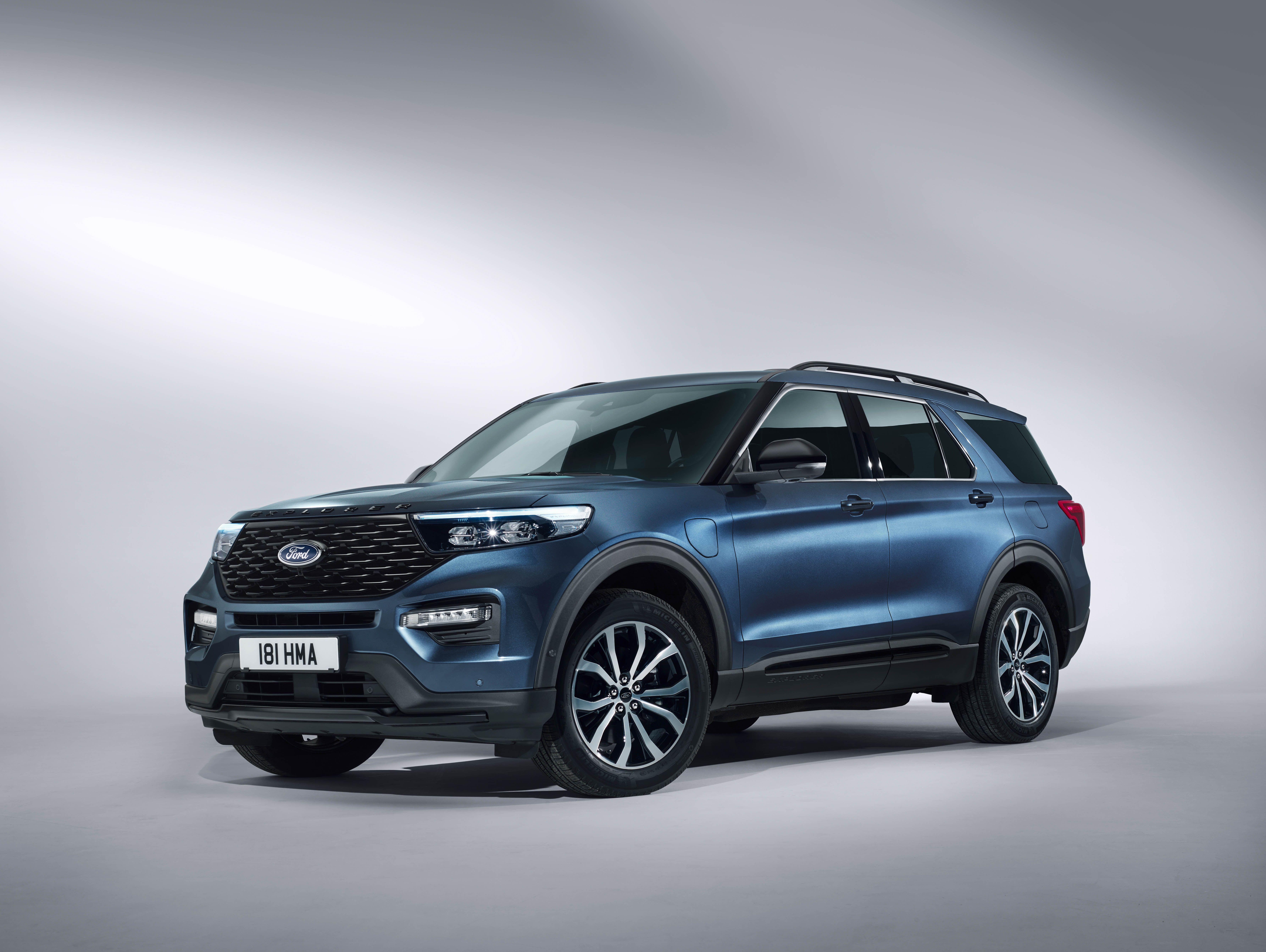 Ford Hybrid Suv >> Ford Explorer Plug In Hybrid New Phev Suv For Europe