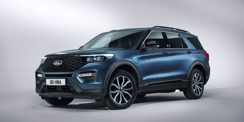 Ford Explorer Plug In Hybrid Euro Spec Has Introduced A