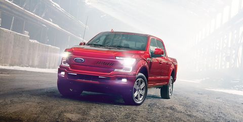 For F-150 electric pickup