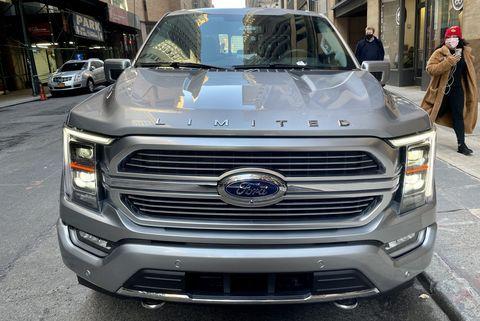 ford f 150 limited hybrid f150