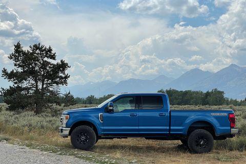 ford f 250 f250 tremor blue