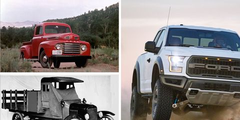 Awe Inspiring Fords F Series Pickup Truck Its History From The Model Cjindustries Chair Design For Home Cjindustriesco