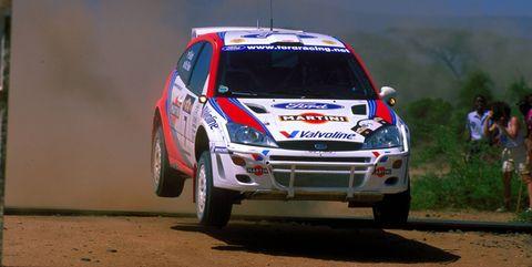 Kenya Safari Rally victory