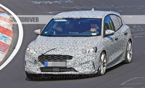 2020 Ford Focus St Spied A Nurburgring Workout For The Next Gen Hot