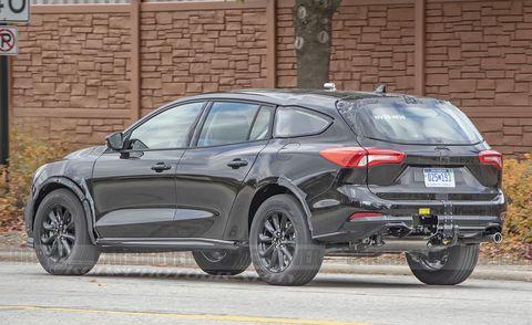Next Ford Fusion Takes Shape as a Subaru Outback–Style ...