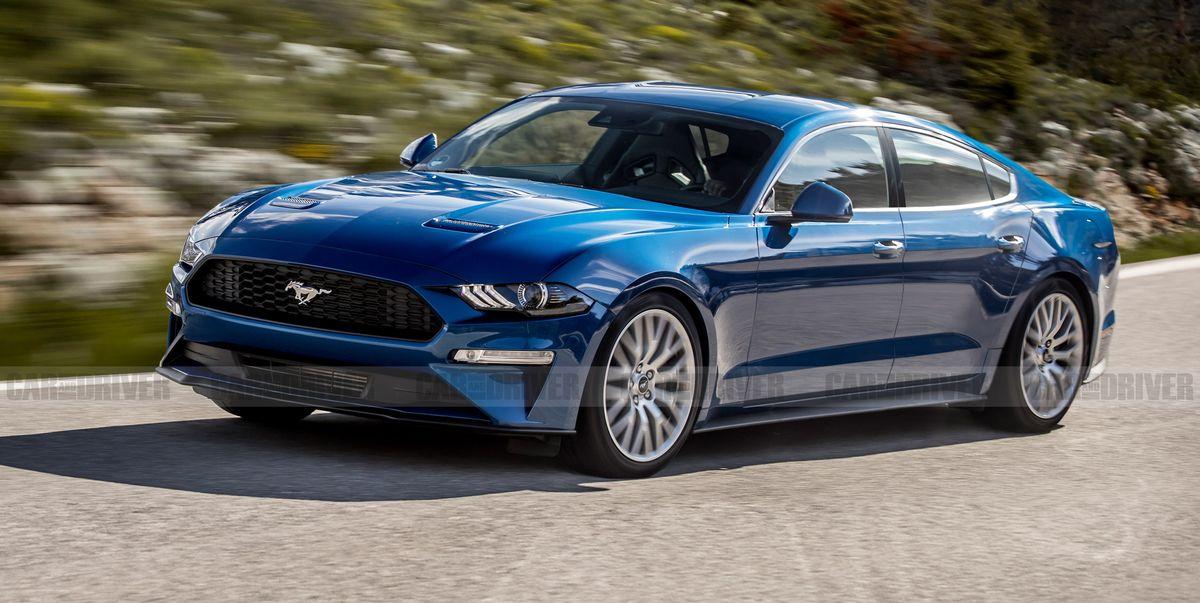 Ford Mustang Four Door Rumors Of A New Pony Car Sedan