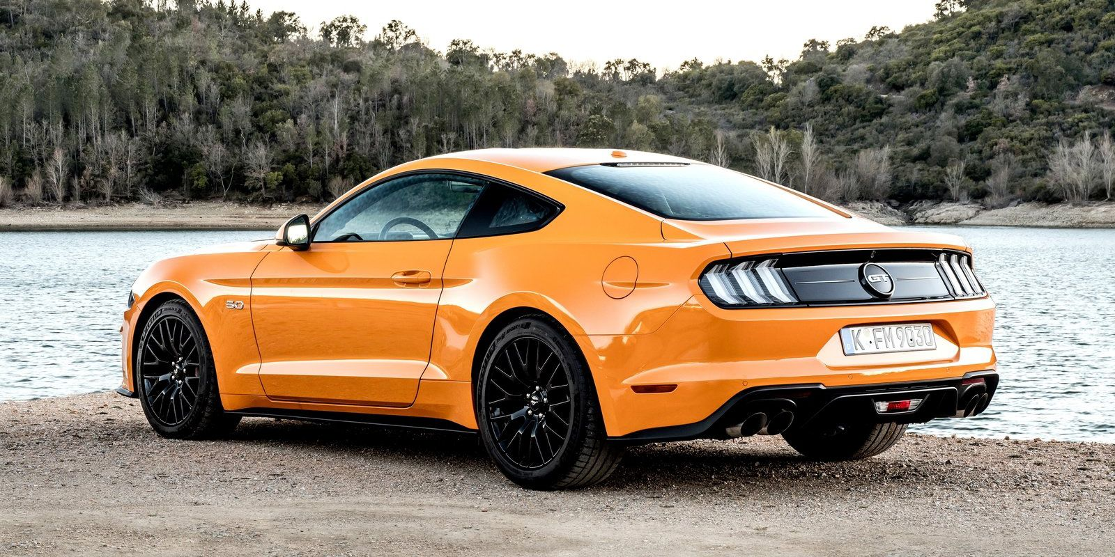 All the cool tech in the 2018 mustang gts 5 0 liter v8