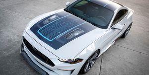 Ford Mustang Litium - delantera