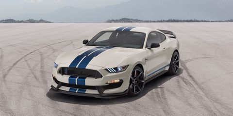 See Photos of Ford Mustang Shelby GT350 Heritage Edition