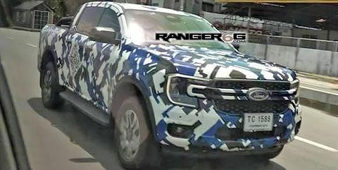 nuevo ford ranger filtrado