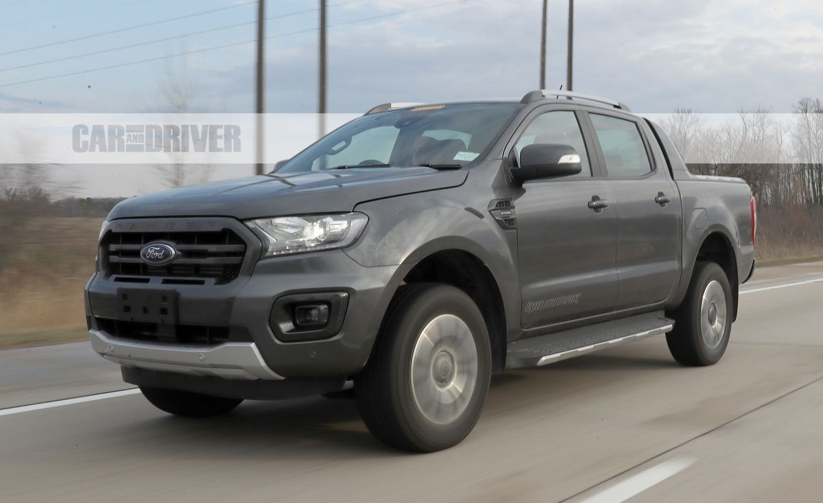 Off Road Themed Ford Ranger Wildtrak Spotted In Michigan