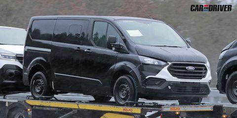 nuevo ford transit y tourneo coche mula