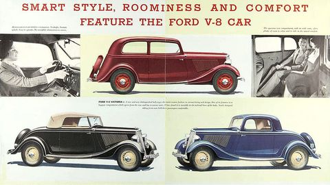 1934 ford brochure