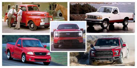 visual history of the ford fseries