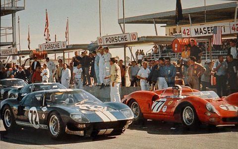 Ford vs Ferrari