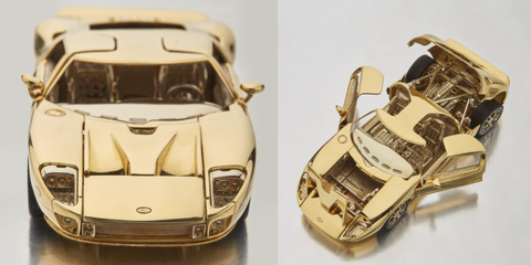 Vehicle, Car, Model car, Ford gt40, Supercar, Sports car, Race car, Scale model, Coupé, Toy vehicle,