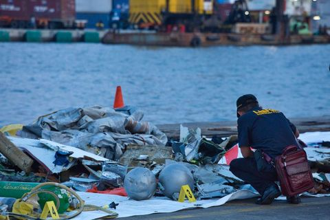 Lion Air Flight Crashes Into Sea Off Jakarta