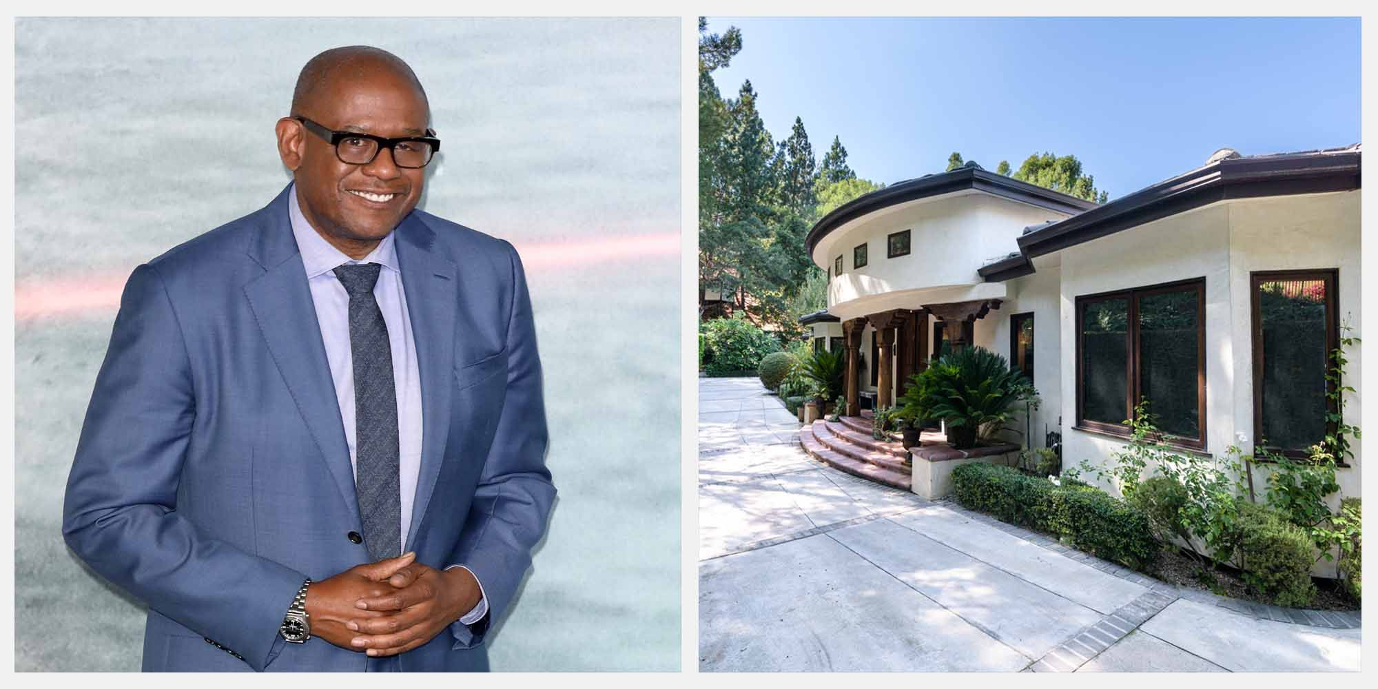 Forest Whitaker's Hollywood Hills Compound is on Sale for $4.3 Million